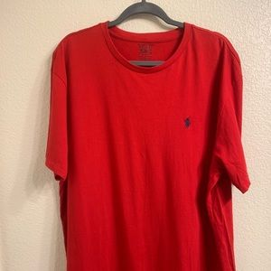 🎃 Polo R Lauren Red T-Shirt